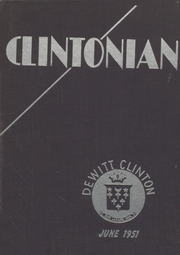 Page 1, 1951 Edition, DeWitt Clinton High School - Clintonian Yearbook (Bronx, NY) online yearbook collection