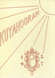 1957 Edition, Poland Central High School - Kuyahooran Yearbook (Poland, NY)