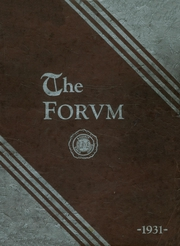 1931 Edition, Lockport High School - Forum Yearbook (Lockport, NY)