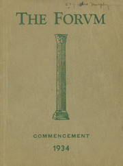 1934 Edition, Lockport High School - Forum Yearbook (Lockport, NY)