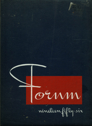 1956 Edition, Lockport High School - Forum Yearbook (Lockport, NY)