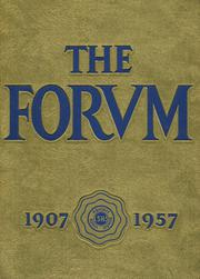 1957 Edition, Lockport High School - Forum Yearbook (Lockport, NY)