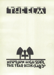 Page 5, 1930 Edition, Newtown High School - Newtowner Yearbook (Elmhurst, NY) online yearbook collection