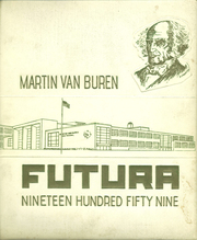 1959 Edition, Martin Van Buren High School - Futura Yearbook (Queens Village, NY)