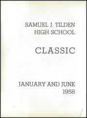 Page 6, 1958 Edition, Tilden High School - Classic Yearbook (Brooklyn, NY) online yearbook collection
