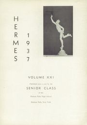 Page 5, 1937 Edition, Hudson Falls High School - Hermes Yearbook (Hudson Falls, NY) online yearbook collection