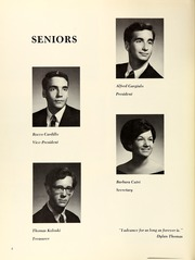 Page 8, 1970 Edition, Fox Lane High School - Fox Trails Yearbook (Bedford, NY) online yearbook collection