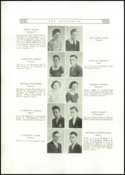 Page 10, 1936 Edition, Canton Williams High School - Algonquin Yearbook (Canton, NY) online yearbook collection