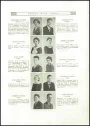 Page 11, 1936 Edition, Canton Williams High School - Algonquin Yearbook (Canton, NY) online yearbook collection