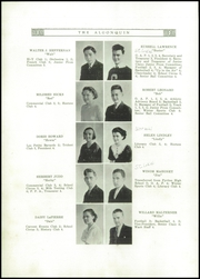 Page 12, 1936 Edition, Canton Williams High School - Algonquin Yearbook (Canton, NY) online yearbook collection