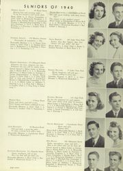 Page 13, 1940 Edition, Marshall High School - John Quill Yearbook (Rochester, NY) online yearbook collection