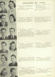 Page 14, 1940 Edition, Marshall High School - John Quill Yearbook (Rochester, NY) online yearbook collection