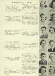 Page 15, 1940 Edition, Marshall High School - John Quill Yearbook (Rochester, NY) online yearbook collection