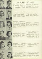 Page 16, 1940 Edition, Marshall High School - John Quill Yearbook (Rochester, NY) online yearbook collection