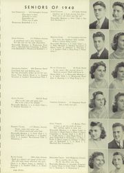 Page 17, 1940 Edition, Marshall High School - John Quill Yearbook (Rochester, NY) online yearbook collection