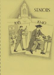 Page 9, 1940 Edition, Marshall High School - John Quill Yearbook (Rochester, NY) online yearbook collection