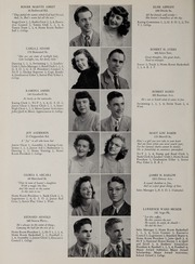 Page 16, 1947 Edition, Marshall High School - John Quill Yearbook (Rochester, NY) online yearbook collection