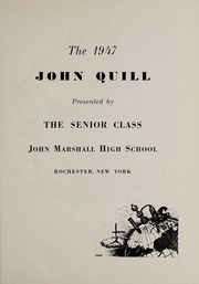 Page 5, 1947 Edition, Marshall High School - John Quill Yearbook (Rochester, NY) online yearbook collection