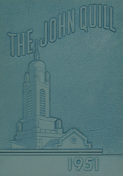 1951 Edition, Marshall High School - John Quill Yearbook (Rochester, NY)