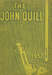 1952 Edition, Marshall High School - John Quill Yearbook (Rochester, NY)