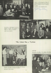 Page 16, 1952 Edition, Marshall High School - John Quill Yearbook (Rochester, NY) online yearbook collection