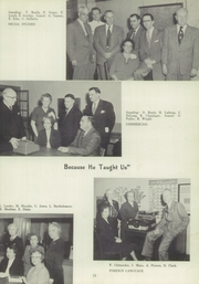 Page 17, 1952 Edition, Marshall High School - John Quill Yearbook (Rochester, NY) online yearbook collection