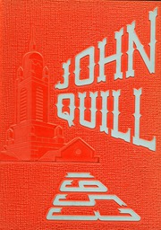1953 Edition, Marshall High School - John Quill Yearbook (Rochester, NY)