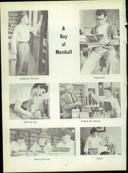 Page 12, 1955 Edition, Marshall High School - John Quill Yearbook (Rochester, NY) online yearbook collection