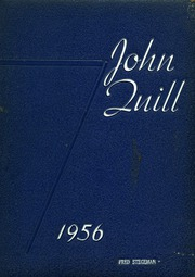 1956 Edition, Marshall High School - John Quill Yearbook (Rochester, NY)