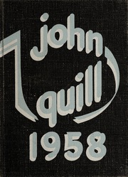1958 Edition, Marshall High School - John Quill Yearbook (Rochester, NY)