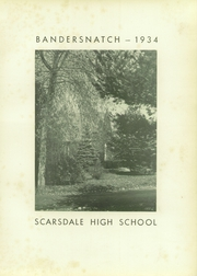 Page 7, 1934 Edition, Scarsdale High School - Bandersnatch Yearbook (Scarsdale, NY) online yearbook collection