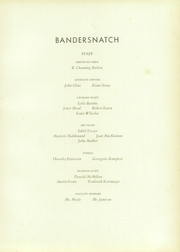 Page 9, 1934 Edition, Scarsdale High School - Bandersnatch Yearbook (Scarsdale, NY) online yearbook collection