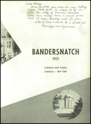 Page 7, 1951 Edition, Scarsdale High School - Bandersnatch Yearbook (Scarsdale, NY) online yearbook collection
