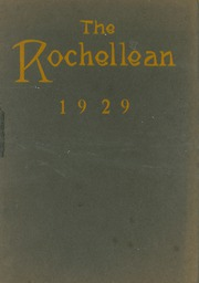 New Rochelle High School - Rochellean Yearbook (New Rochelle, NY) online yearbook collection, 1929 Edition, Page 1