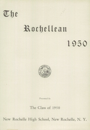 Page 5, 1950 Edition, New Rochelle High School - Rochellean Yearbook (New Rochelle, NY) online yearbook collection