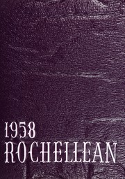 New Rochelle High School - Rochellean Yearbook (New Rochelle, NY) online yearbook collection, 1958 Edition, Page 1