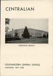 Page 7, 1949 Edition, Southwestern Central High School - Centralian Yearbook (Jamestown, NY) online yearbook collection