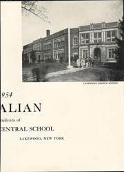 Page 9, 1954 Edition, Southwestern Central High School - Centralian Yearbook (Jamestown, NY) online yearbook collection