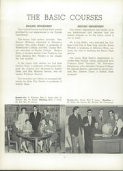 Page 16, 1955 Edition, Southwestern Central High School - Centralian Yearbook (Jamestown, NY) online yearbook collection