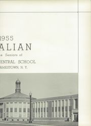 Page 7, 1955 Edition, Southwestern Central High School - Centralian Yearbook (Jamestown, NY) online yearbook collection