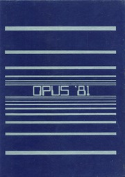 Page 1, 1981 Edition, John Bowne High School - Opus Yearbook (Flushing, NY) online yearbook collection