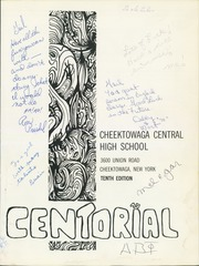 Page 5, 1970 Edition, Cheektowaga Junior Senior High School - Centorial Yearbook (Cheektowaga, NY) online yearbook collection