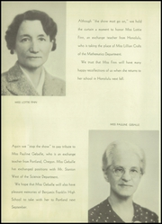 Page 12, 1938 Edition, Franklin High School - Key Yearbook (Rochester, NY) online yearbook collection