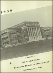 Page 5, 1938 Edition, Franklin High School - Key Yearbook (Rochester, NY) online yearbook collection