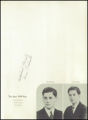 Page 5, 1939 Edition, Franklin High School - Key Yearbook (Rochester, NY) online yearbook collection