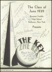 Page 7, 1939 Edition, Franklin High School - Key Yearbook (Rochester, NY) online yearbook collection