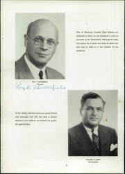 Page 10, 1947 Edition, Franklin High School - Key Yearbook (Rochester, NY) online yearbook collection