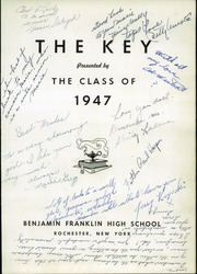 Page 5, 1947 Edition, Franklin High School - Key Yearbook (Rochester, NY) online yearbook collection
