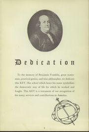 Page 7, 1949 Edition, Franklin High School - Key Yearbook (Rochester, NY) online yearbook collection