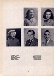Page 12, 1947 Edition, Lancaster High School - Cayugan Yearbook (Lancaster, NY) online yearbook collection
